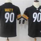 Youth Pittsburgh Steelers 90 T.J. Watt Limited Black Stitched Jersey