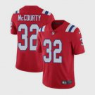Men's Patriots #32 Devin McCourty Limited Red Stitched Jersey