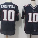 Men's Patriots 10# Jimmy Garoppolo Elite Navy Stitched Jersey