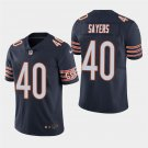 Chicago Bears #40 Gale Sayers Navy Stitched Limited Jersey