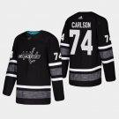 Washington Capitals #74 John Carlson NHL All-Star Game Parley Game Black Jersey