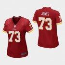 Women's Washington Redskins #73 Stan Jones Burgundy Stitched Jersey