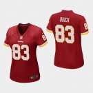 Women's Washington Redskins #83 Brian Quick Burgundy Stitched Jersey