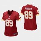 Women's Washington Redskins #89 Dave Robinson Burgundy Stitched Jersey