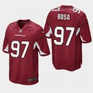 Men's 2019 Draft Arizona Cardinals NICK BOSA Red Jersey