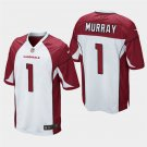 Men's 2019 Draft Arizona Cardinals KYLER MURRAY White Jersey