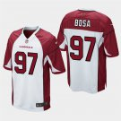 Youth 2019 Draft Arizona Cardinals NICK BOSA White Jersey