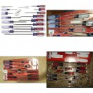 New PROFESSIONAL QUALITY Slotted Phillips Screwdriver Set with Butterfat Handles