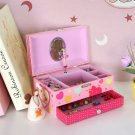 NEW SONGMICS Ballerina Music Jewelry 4 Box for Little Girls Swan Lake Tune Pink