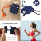 High QUALITY AirPods Case 7 In 1 Accessories Kit Protective Silicone Cover Blue