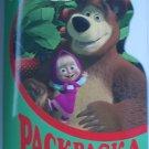 Masha and Bear coloring stencils Rus