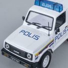 Suzuki Samurai 1/43 police car Malaysia