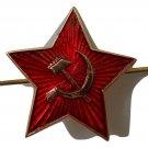 badge big red star USSR