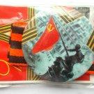 9 may George ribbon ussr pin victory #1