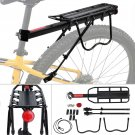 Alloy Bike Bicycle Rear Rack Carrier Seatpost Mountain Quick Release Cargo Frame