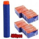 400pcs Blue Refill Bullet Darts for Nerf N-strike Elite Series Blasters Toy Gun