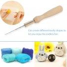 7pcs Felting Needles Set with Handle Wool Felt Tool Felting Starter Kits