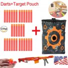 120 * Refill Foam Bullet Darts + Target Pouch for Nerf N-Strike Elite Centurion