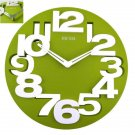 Large 3D Digital Modern Home Office Decor 13''inch Hollow-out Round Wall Clock