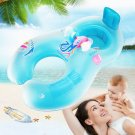 Inflatable Mother Baby Soft Swim Float Raft Swim Ring Pool Floating Ring Chairs