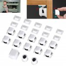 12pcs Magnetic Cabinet Drawer Cupboard Locks For Child Baby Safety Kids Proofing