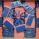 400* 7.2cm Foam Darts for Nerf N-strike Elite Series Blasters Toy Gun (Blue)
