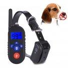 No Bark Collar USB LED Digital Display Waterproof Anti-Bark Dog Training Collar