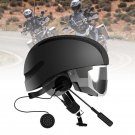 Bluetooth Motorcycle Helmet Motorbike Handsfree Headset Headphone for Music GPS