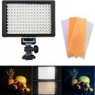 Professional 160 LED Video Light Hot Shoe Photo Studio Lighting for Canon Nikon