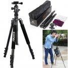 ZOMEI Foldable Camera Tripod Aluminium Tripod w/ Ball Head For Canon Nikon Sony