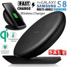 Qi Wireless Charger Fast Charge Foldable Pad Stand For Samsung Note 8 S8 S9 edge