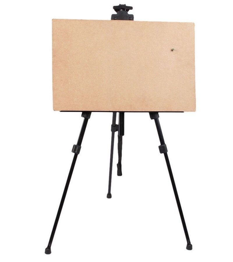 Adjustable Artist Aluminium Alloy Tripod Painters Easel Stand 61'' W/ Carry Bag