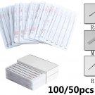 50/100 Pack Sterile Disposable Tattoo Needles 3RL 5RL 7RL 9RL 5 7 9 RS 5 7 9 M1