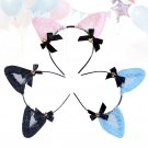 Cute Cat Ears Headband Costume Hair Hoop Party Supplies for Cosplay Decoration