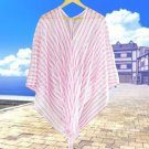 Ladies Summer Casual Beach Vacation Bikini Cover Up Oversize Blouse Tops