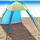 8 Person Beach Canopy Portable Camping Sun Shade Shelter Triangle Beach Tent New