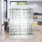 Exquisite Soft Modern 200x100cm Galsang Flower Sheer Curtain for Home Decoration