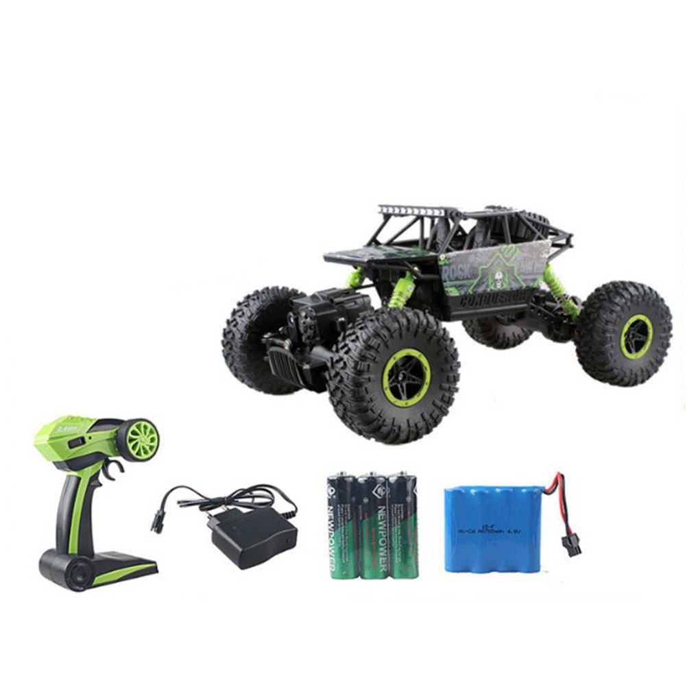 1/18 Remote Control RC Rock Crawler Racing Car 4WD Off-Road Truck Car Toy 2.4Ghz