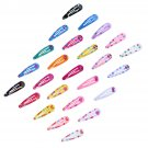 100pcs 5cm Baby Girls Hairpin Delicate Comfort Sweet Cute Barrettes for Toddlers