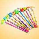 24pcs Flexible Bulk Graphite Pencil Christmas Lead Pencil for Students Children