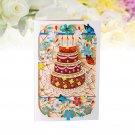 Cake Greeting Card Postcards Handmade Celebration Creative Postcards for Wedding