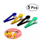 5pcs Microfiber Spectacles Cleaner Soft Brush Eyeglasses Cleaning Clip Tool
