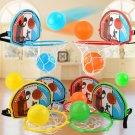 Creative Basketball Backboard Stand Hoop Net Ball Pump Set Kid Interactive Toy