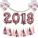 2018 Balloons Garlands Party Favors for Ceremony Anniversary New Year Graduation