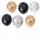 100Pcs 12Inch Graduation Latex Balloons Party Rubber Balloon for Grad Graduation