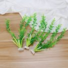 Plastic Fake Aquatic Plants Plastic Emulational Durable Rice Model for Aquarium