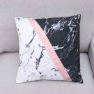 1 Pc Pillow Case Polyester Single Side Cushion Cover Outdoor Indoor Sofa 45x45cm