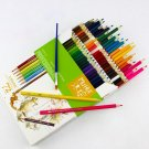 72 Colors Pencils HB Water Soluble Professional Colored Pencils for Coloring