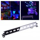 9 LEDs Stage Light Blacklight Decorative Lamp for Christmas Play Halloween Stage