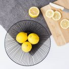 Fruit Basket Simple Vegetable Storage Basket Snack Plate for Living Room Kitchen
